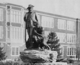 (Cast 1931) Located at Wichita High School in Wichita, Kansas, in honor of the McKnight family, long-time residents of Wichita.