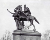 (Cast 1901) By Augustus Saint-Gaudens, horse sculpted by Alexander Phimister Proctor (cast 1901) located in Grand Army Plaza, New York, in honor of General William Tecumseh Sherman